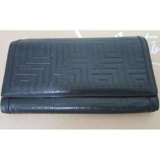 [Like New] Versace Black Leather Wallet