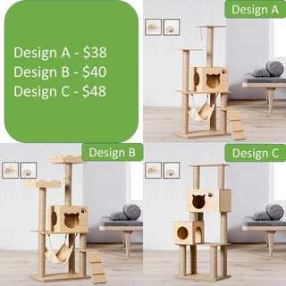 cat condo tree scratch post board pole sisal kitten toy, not carrier cage bed cushion