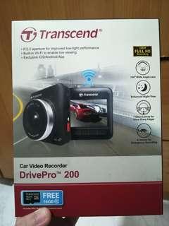 Transcend Drive Pro 200 Dash Cam