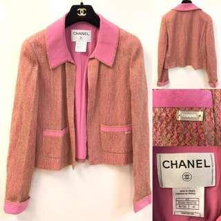 Chanel vintage pink jacket size 40