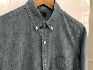 J.Crew Ludlow Chambray Men's Shirt
