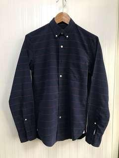 J.Crew Navy Blue Casual Dress Shirt