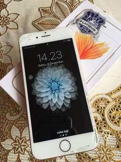 iphone 6s 16gb rose gold fullset