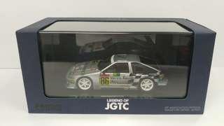 1:43 Toyota Trueno #86 樹脂模型