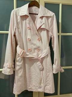 🚚 日本帶回粉紅色風衣外套🧥