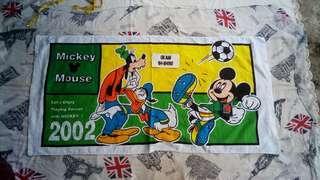 Tuala Mickey Mouse NOS 2002 siap tag lagi