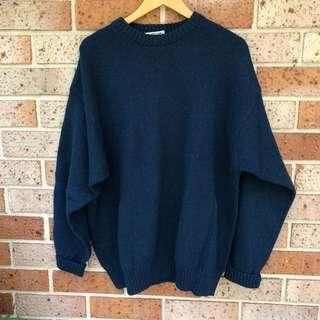 Oversized plus size sweater