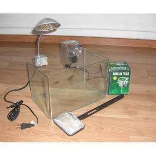 Glass Rectangular Fish Tank