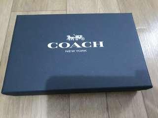 Coach Mens Gift Wallet Set Dompet Kulit Baru
