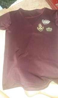 Semi spandex thick fabric top