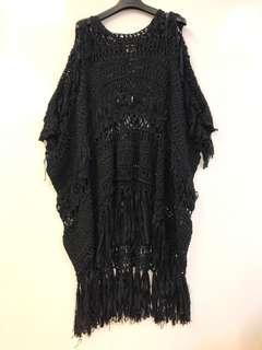 長身裙 Junya watanabe black see through dress size S
