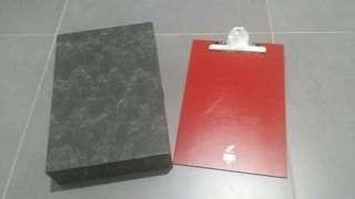 Box File & Clipboard