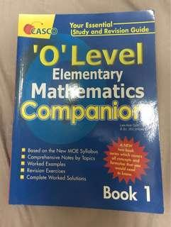O Level EMaths Guidebook