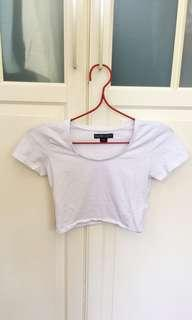 Nude Lucy crop top
