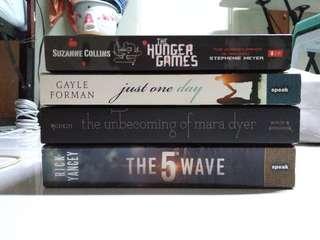 Assorted YA Books Bundle