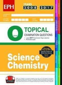 O Level Topical TYS - Science Chem
