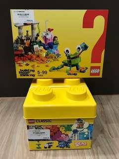 LEGO Classic Combo 10692 Creative Bricks & 10403 World Fun