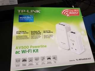 TP-LINK AV500 POWER LINE AC WIFI KIT