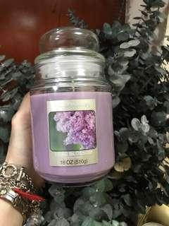 Scented candle - Lilac blossom 1 wick