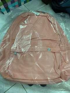 SPAO 粉紅色 背包 全新