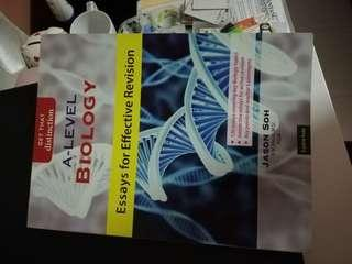 H2 A Level Bio Practice Book {Essays for Effective Revision}