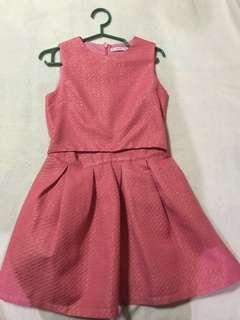 Gingersnaps Pink cut out dress size 12