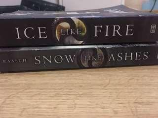 Snow like ashes series