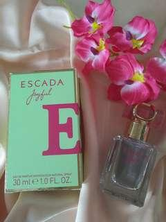 Authentic Escada Joyful