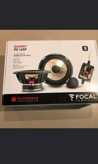 Focal Expert Series PS 165 F 2 Way Component Speakers