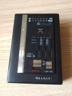 Jual radio walkman sharp