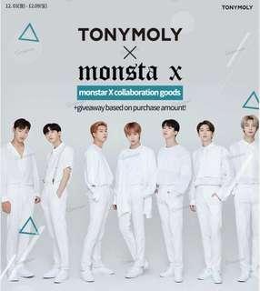 TonyMoly x Monsta X