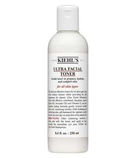 Kiehl's ultra facial toner preloved 60% left #dec50