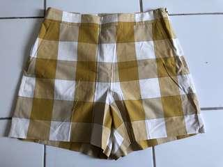 ANNTAYLOR celana pendek cewek kuning