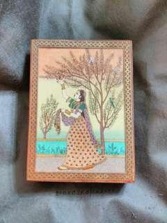 印度木盒 首飾盒 飾物盒