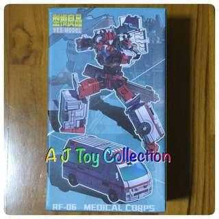 [ In Stock ] Transformers Yes Model YM-16 First Aid Defensor