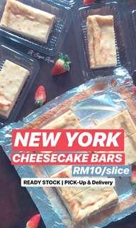 New York Cheesecake Bars