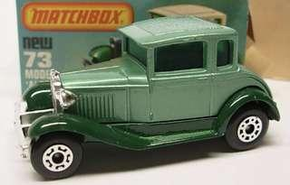 Matchbox 73 Model A, variation
