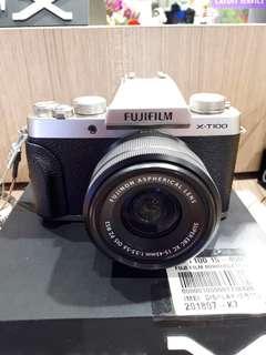 Kamera FujiFilm X-T100 Harga Murah (Bisa Kredit)