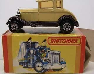 Matchbox 73 Model A Ford