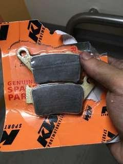 KTM 400 EXC EGS DUKE 200 390 REAR BRAKE PAD