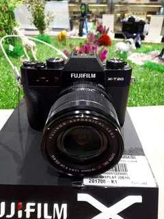 Kamera FujiFilm X-T20 18-55 MURAH (Kredit Tanpa CC)