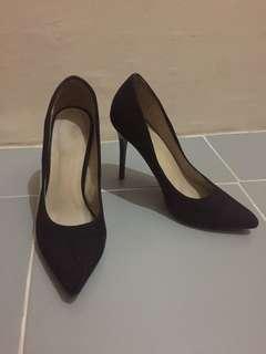 Parisian Black Stilettos