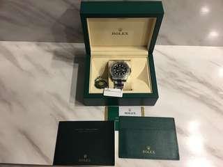 Rolex GMT MASTER2 - 116710LN