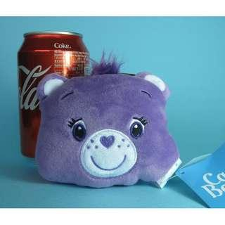 【X276】Care Bear 紫色 小型 公仔吊飾 (約高 8cm)