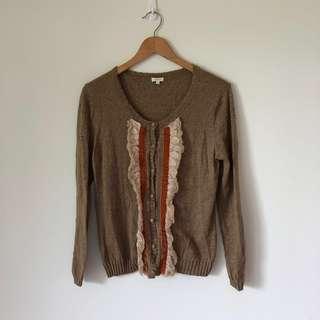 🚚 復古流蘇造型針織外套