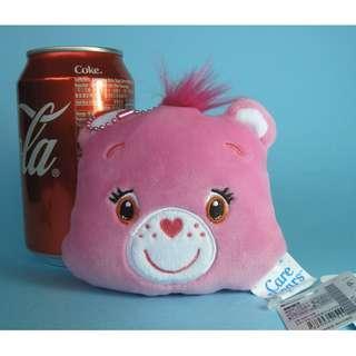 【X277】Care Bear 粉紅色 小型 公仔吊飾 (約高 8cm)