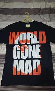 A Bathing Ape BAPE World Gone Mad WGM Tee Shirt L
