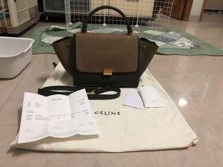 Celine Trapeze Bag拼色袋(100%真品Real)