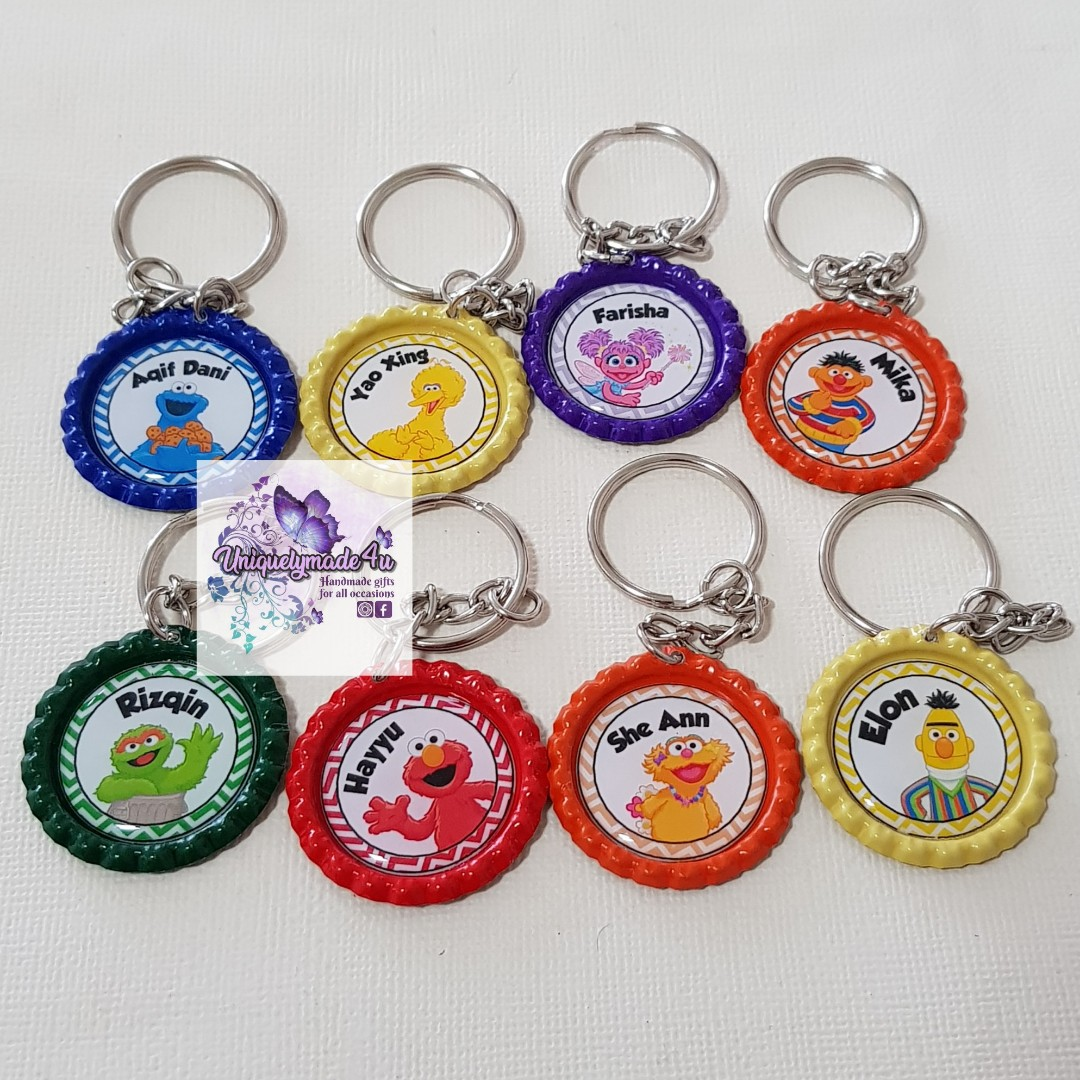 20pcs Personalized Keychains (reserved)