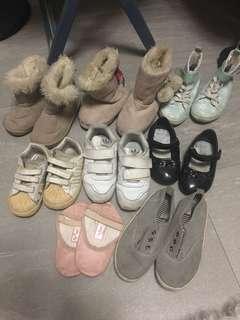 童裝鞋($100for all)